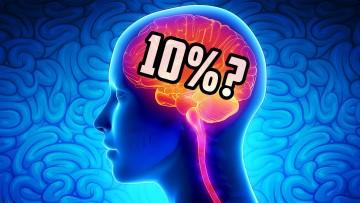 psicomitologia: fem servir només el 10% del cervell